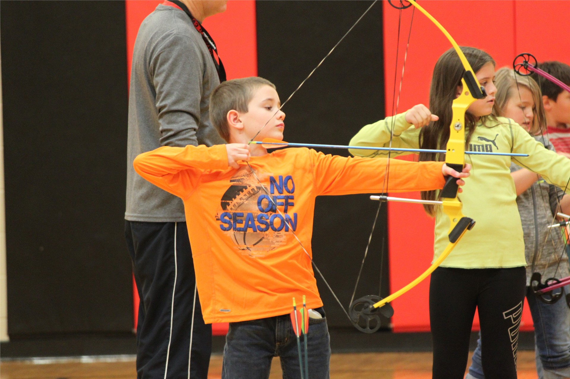 Archery in 4th Grade PE