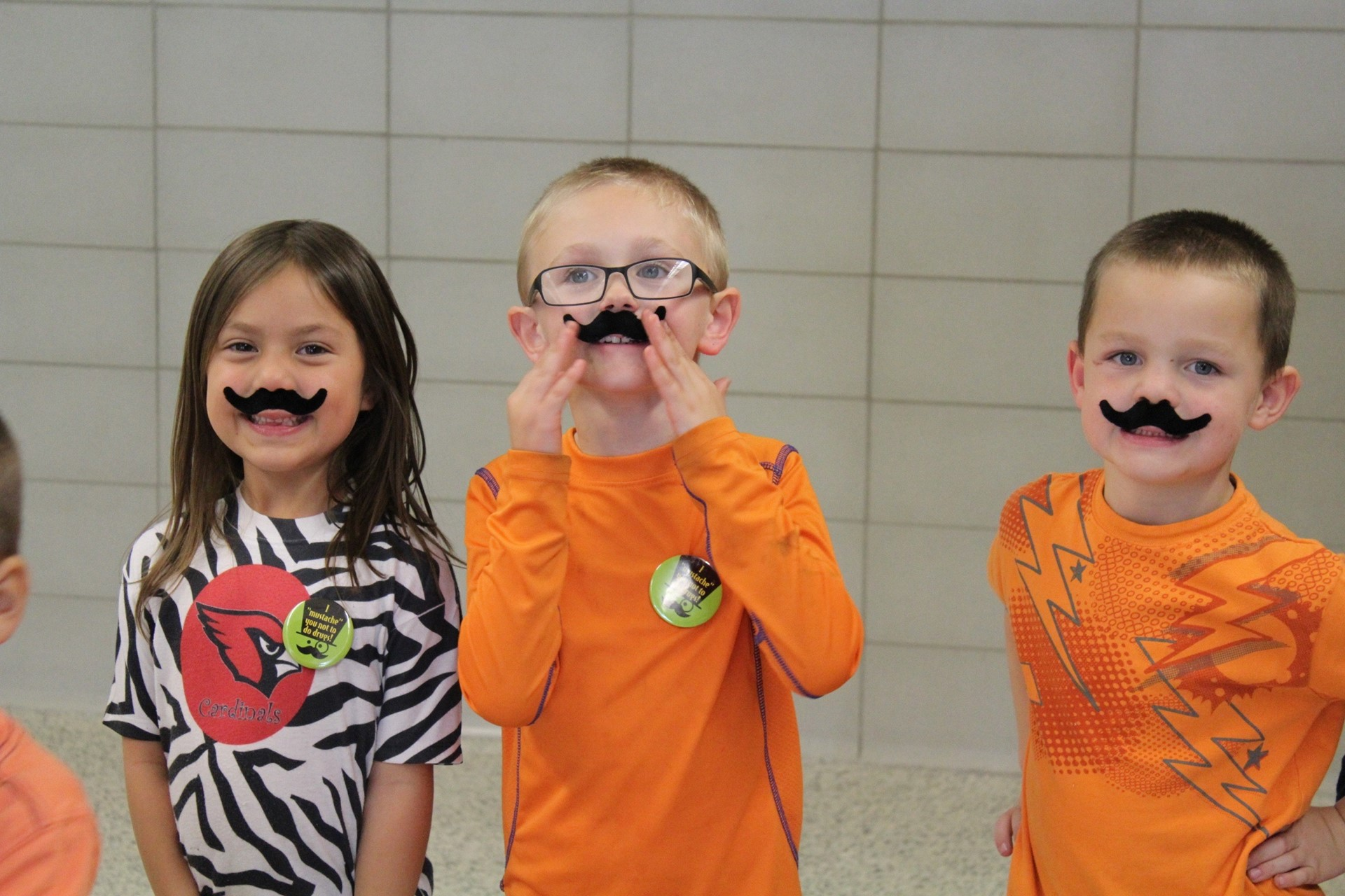 "Red Ribbon Week: We ""Mustache"" You Not to Do Drugs!"