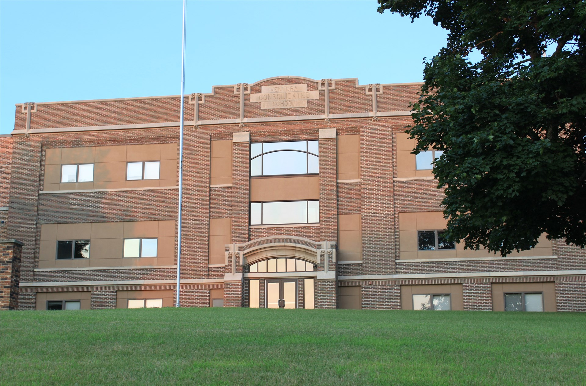 GHV Middle School building