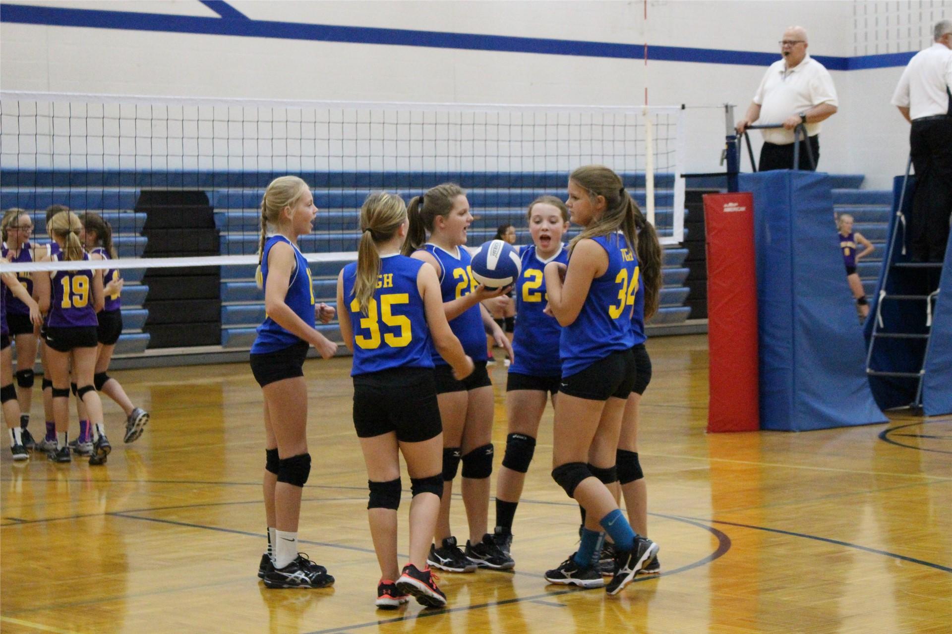 GHV 7th Gr Volleyball 2016 Season