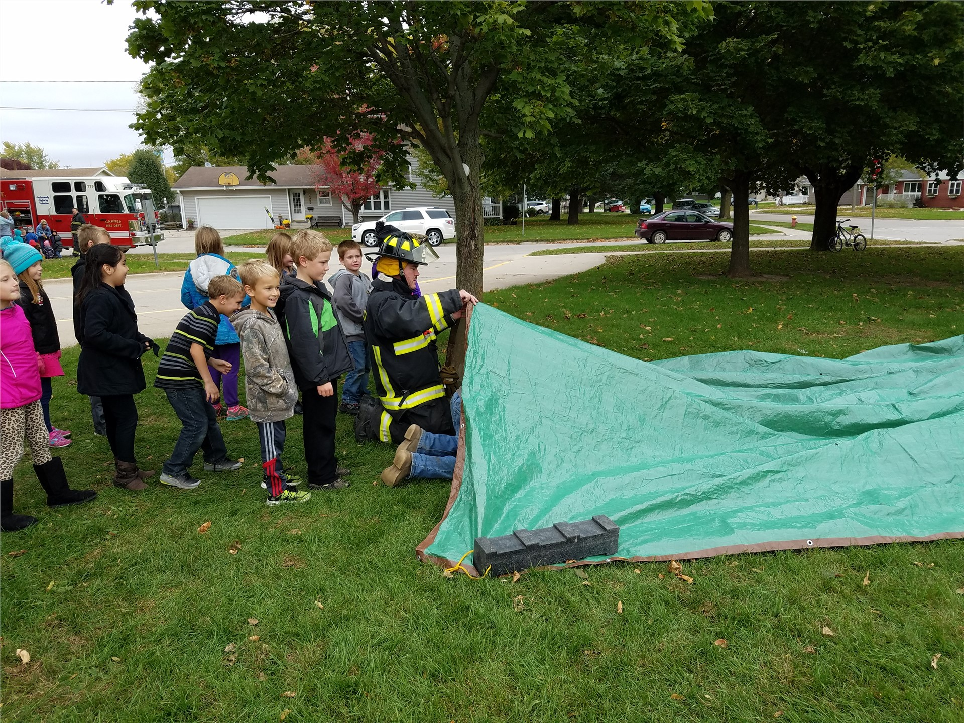 Fire Prevention Week at GHVE!