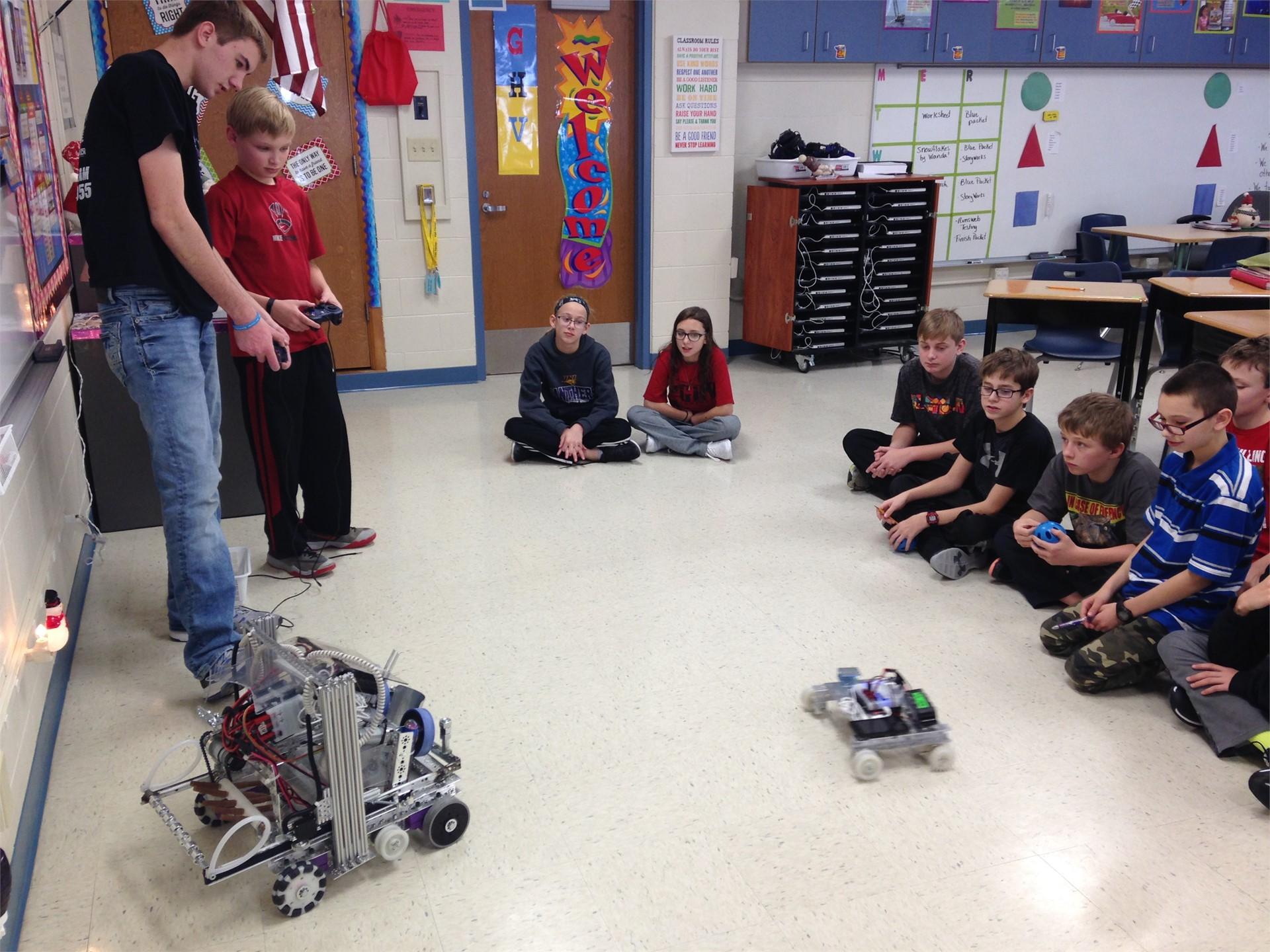 Future Robotic Engineers!