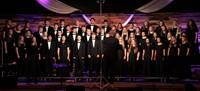 High school choir singing