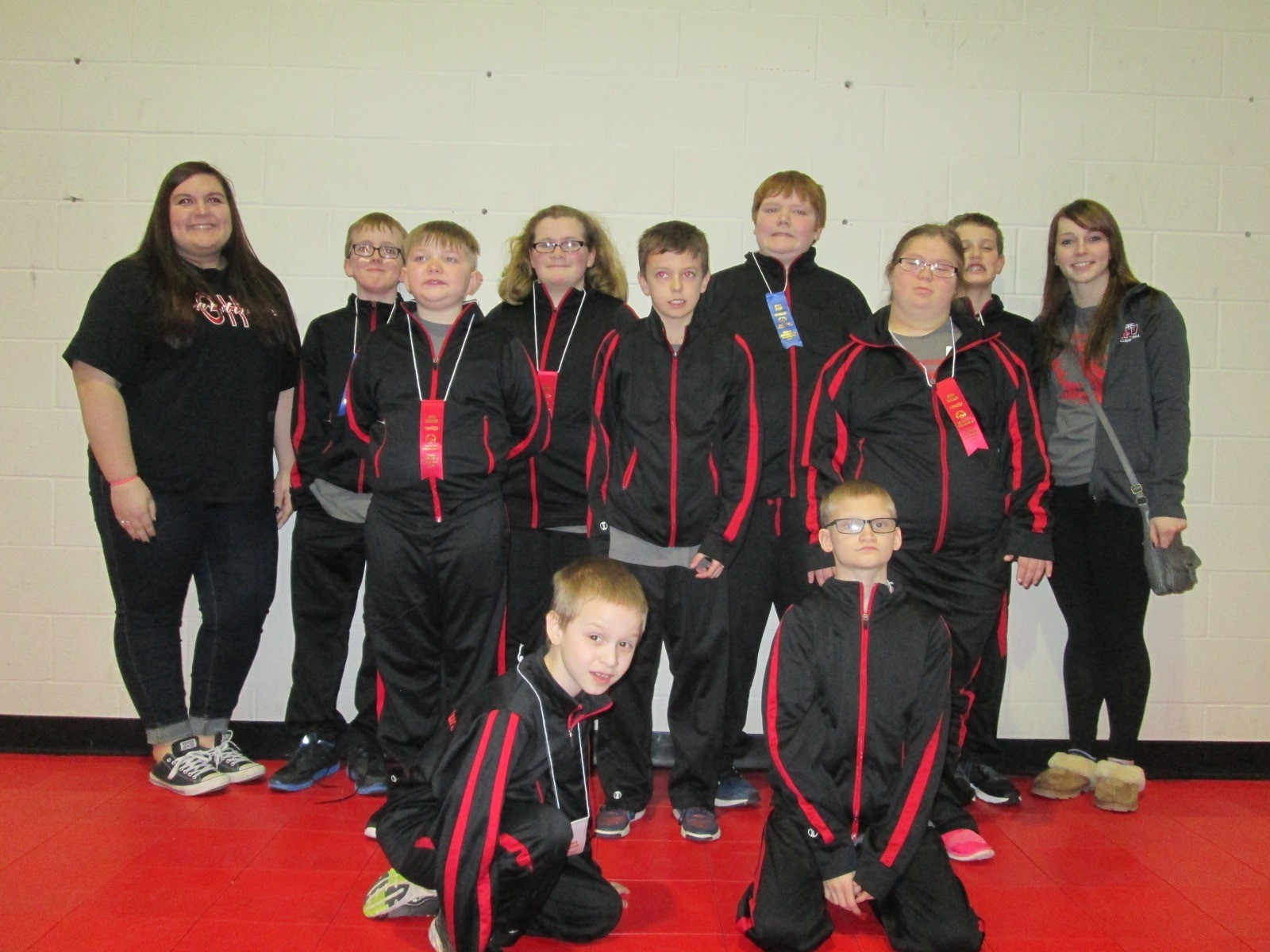 GHV Special Olympics Team and Coaches