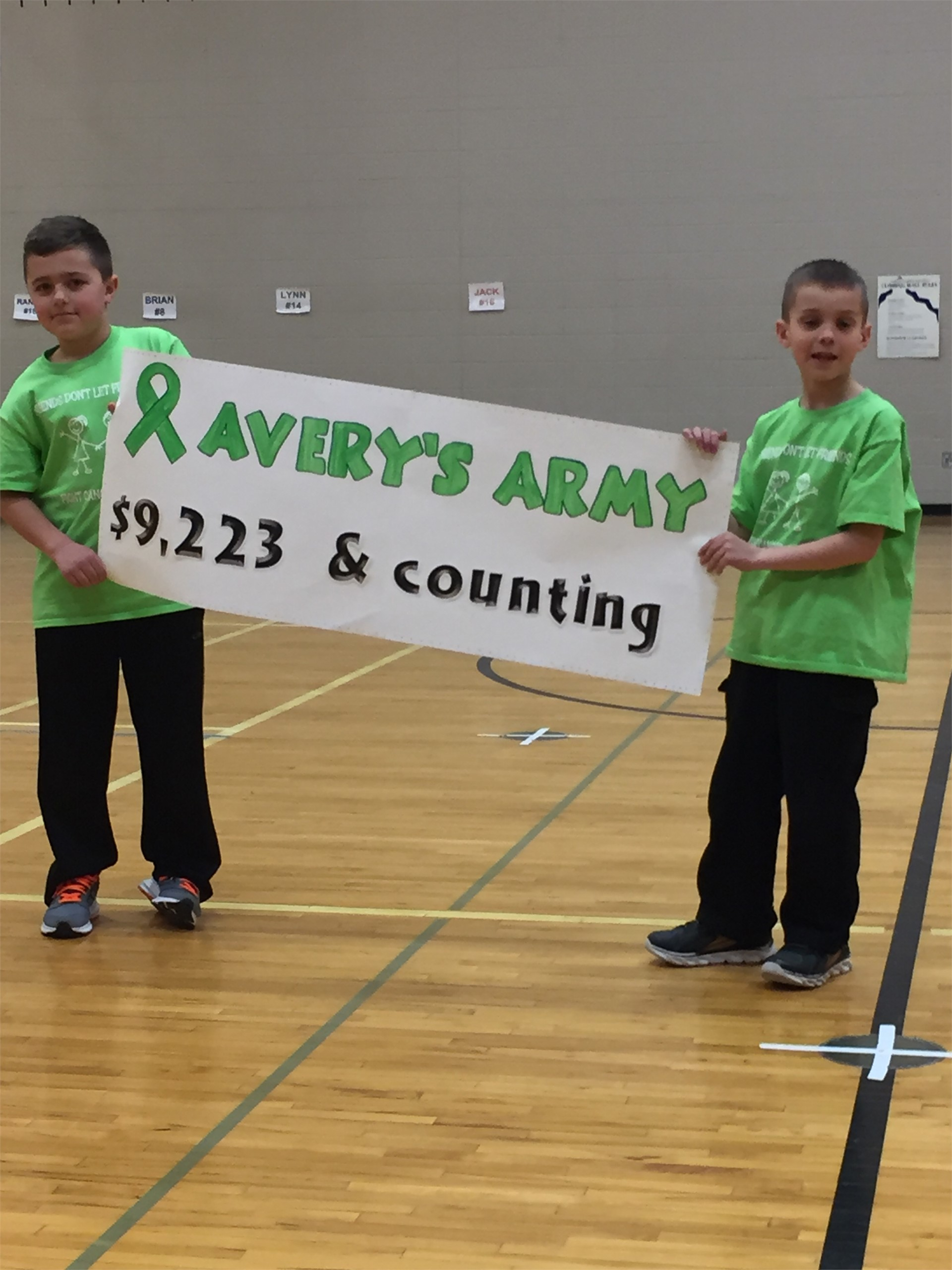 Avery's Army!