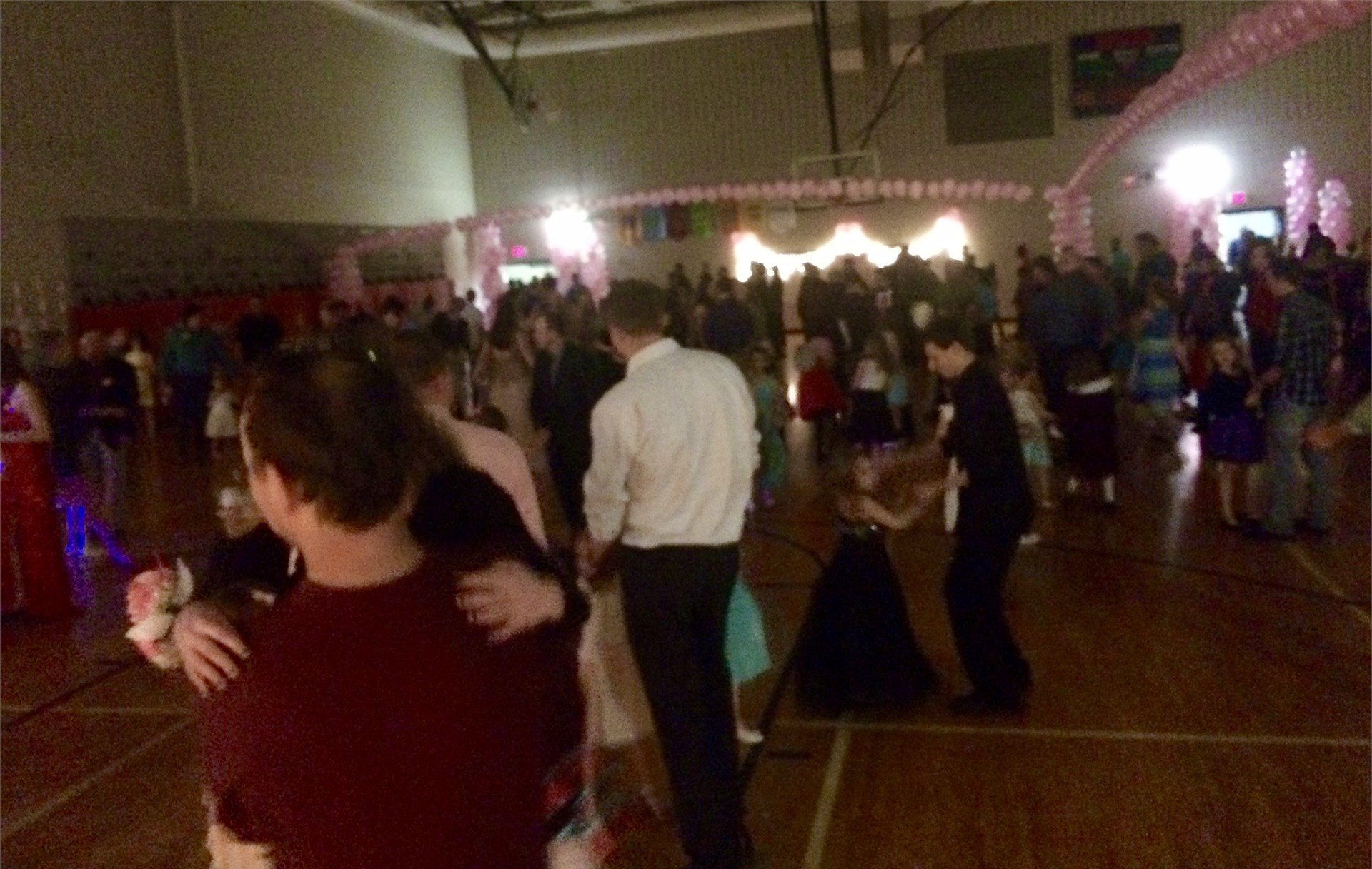 Elementary Dad-n-Daughter Dance (Thanks FCCLA!)