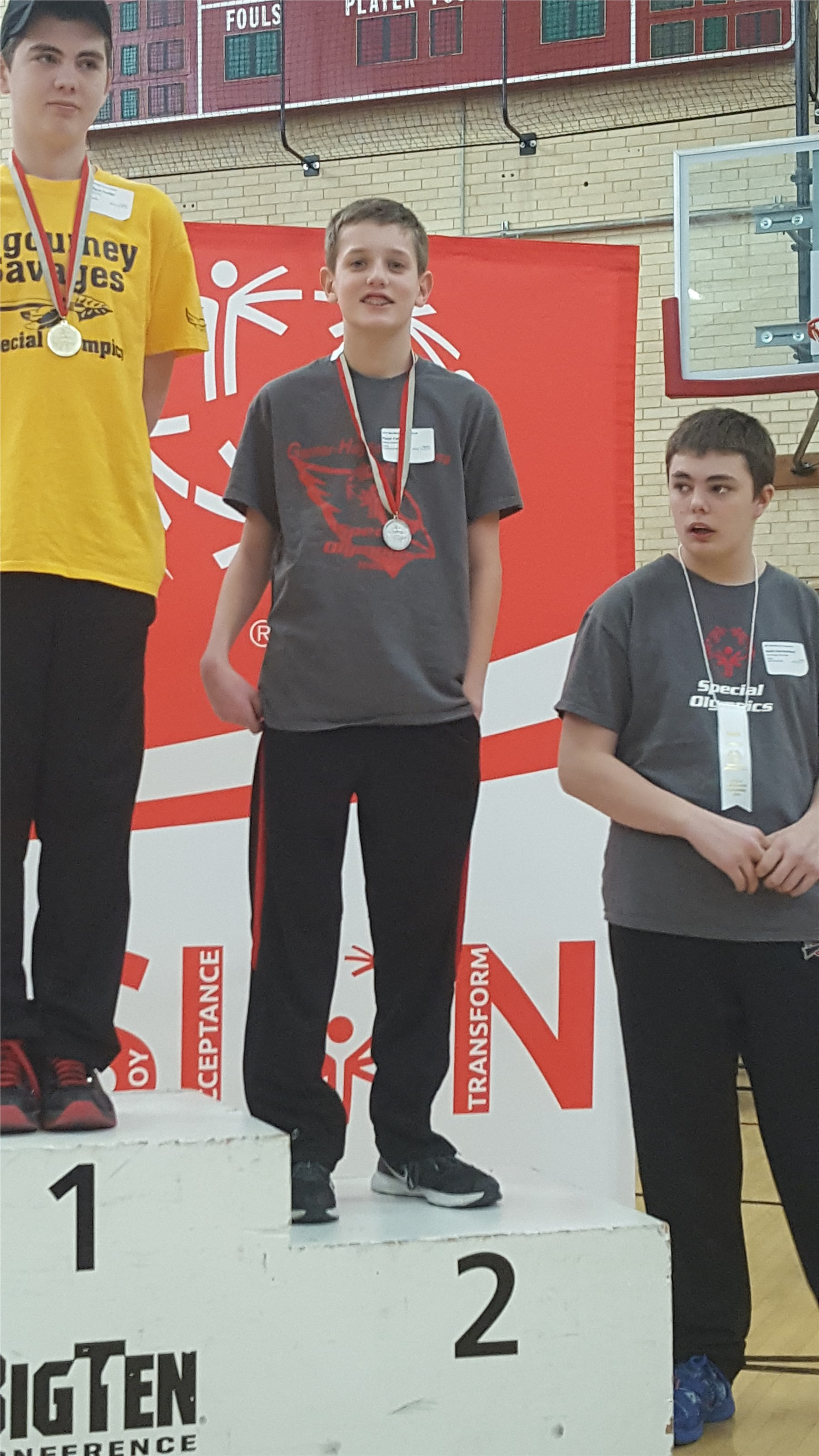 2nd place at State Special Olympics