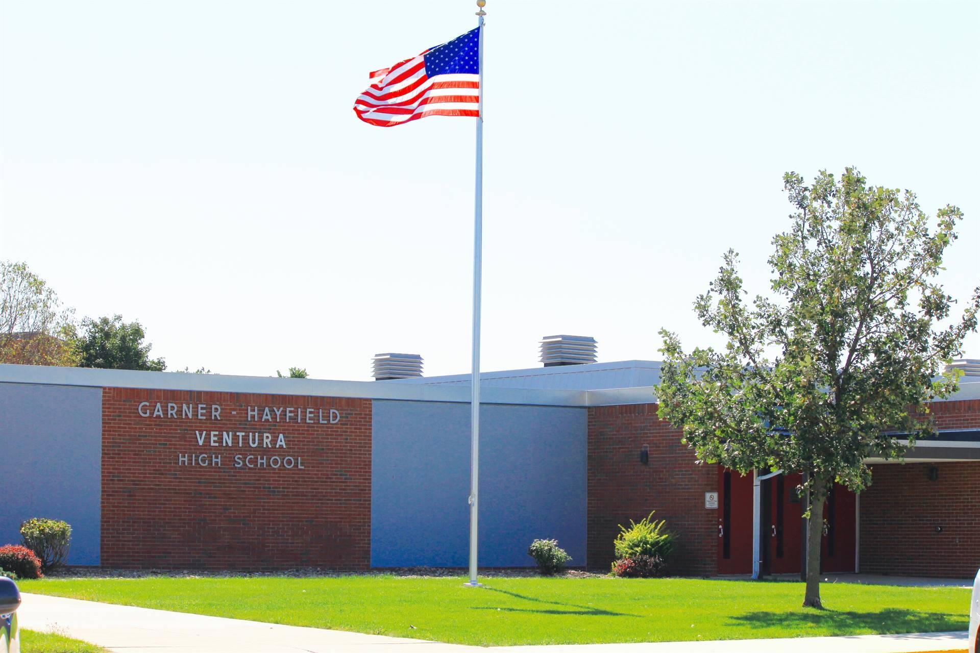 GHV High School building